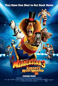 მადაგასკარი 3 (ქართულად) / madagaskari 3 (qartulad) / Madagascar 3: Europe's Most Wanted