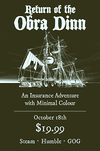 Return of the Obra Dinn | License